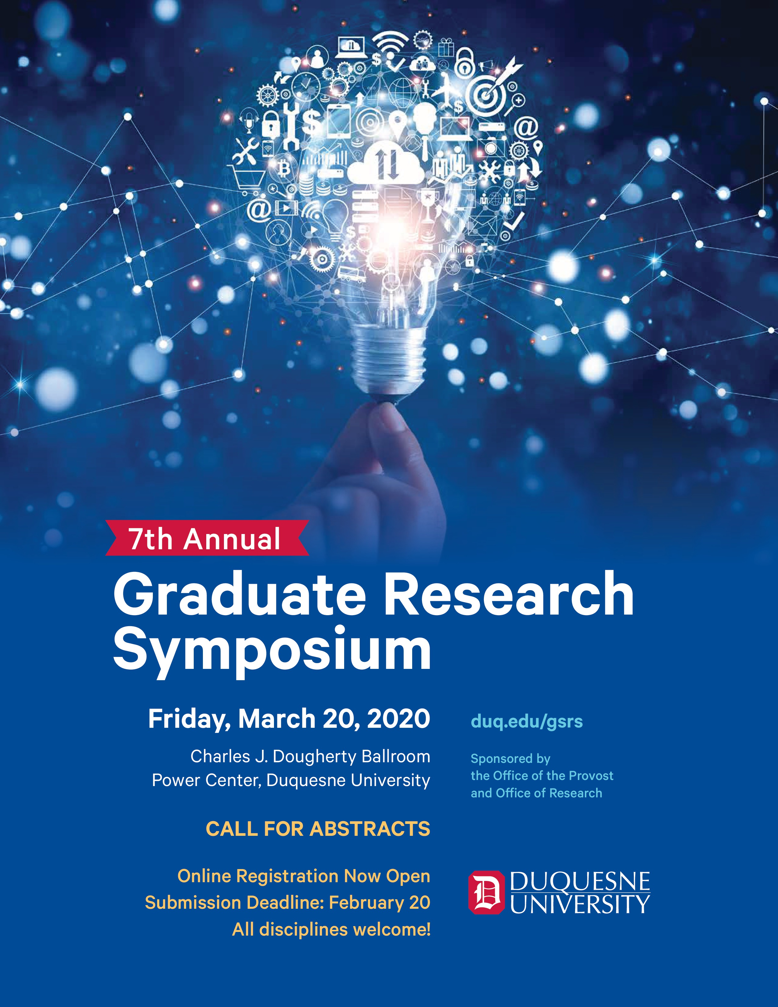 The 7th Annual Graduate Student Research Symposium