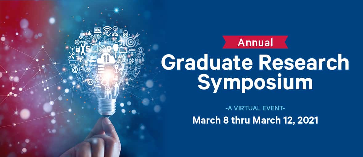 The 2021 Graduate Student Research Symposium