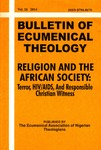 Volume 26 — Religion and the African Society: Terror, HIV/AIDS, and Responsible Christian Witness by The Ecumencial Association of Nigerian Theologians