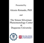 How Did Edmund Husserl Approach Philosophical Problems? by Alessio Rotundo